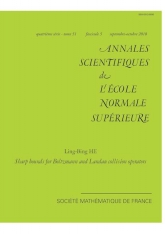 Estimations précises pour les opérateurs de collision de Boltzmann et de Landau