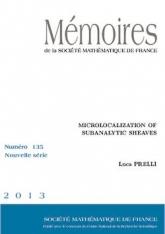 Microlocalisation des faisceaux sous-analytiques