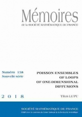 Ensembles poissoniens de boucles des diffusions unidimensionnelles
