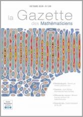 La Gazette des mathématiciens 158 (octobre 2018)