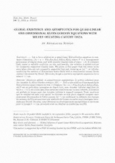 Existence globale et comportement asymptotique de petites solutions pour des équation de Klein-Gordon critiques 1D
