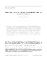 Un critère pour détecter les éléments triviaux dans un quotient périodique d'un groupe hyperbolique
