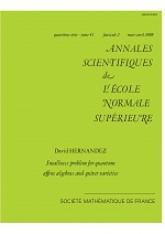 Problème de petitesse pour les algèbres affines quantiques et les variétés carquois