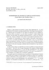 Exposé Bourbaki 1125 : Isomorphismes de graphes en temps quasi-polynomial (d'après Babai et Luks, Weisfeiler-Leman...)