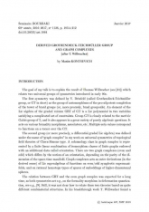 Exposé Bourbaki 1126 : Le groupe de Grothendieck-Teichmüller dérivé et les complexes de graphes