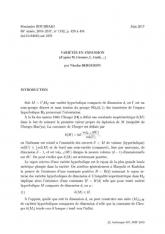 Exposé Bourbaki 1132 : Variétés en expansion (d'après M. Gromov, L. Guth,... )