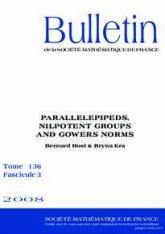 Parallélépipèdes, groupes nilpotents et normes de Gowers