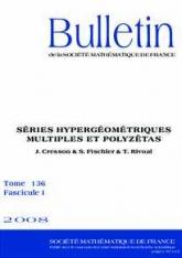 Séries hypergéométriques multiples et polyzêtas