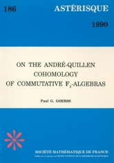 On the André-Quillen Cohomology of commutative $\mathbb {F}_2$-algebras