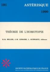 Théorie de l'homotopie