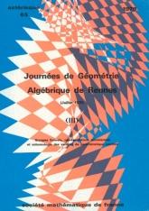 Journées de Géométrie algébrique de Rennes (juillet 1978), III