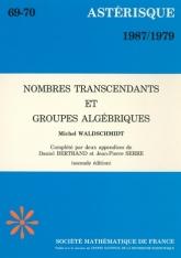 Nombres transcendants et groupes algébriques, 2e édition