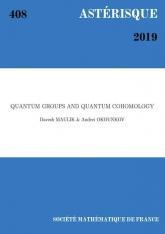 Groupes quantiques et cohomologie quantique