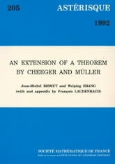 An extension of a theorem by Cheeger and Müller
