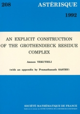 An explicit construction of the Grothendieck residue complex