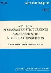 A theory of characteristic currents associated with a singular connection