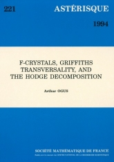F-Crystals, Griffths transversality, and the Hodge decomposition