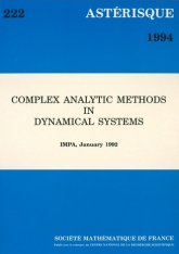 Complex analytic methods in dynamical systems (IMPA, January 1992)
