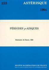 Periodes $p$-adiques (Séminaire de Bures, 1988)