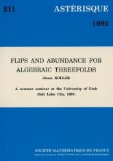 Flips and abundance for algebraic threefolds