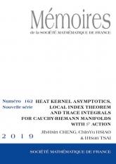 Étude asymptotique du noyau de la chaleur, indice local et traces sur les variétés de Cauchy-Riemann avec action d'un cercle