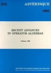Recent advances in operator algebras