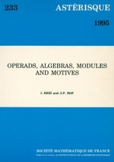 Operads, algebras, modules and motives
