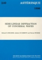 Semi-linear Diffraction of conormalwawes