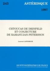 Chtoucas de Drinfeld et conjecture de Ramanujan-Petersson