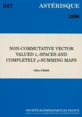 Espaces $L_p$ non-commutatifs à valeurs vectorielles et applications complètement $p$-sommantes