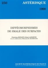 Difféomorphismes de Smale des surfaces