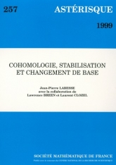 Cohomologie, stabilisation et changementdebase