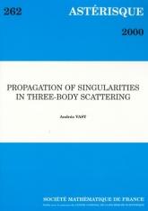 Propagation des singularités dans la diffusion à trois corps