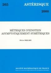 Métriques d'Einstein asymptotiquement symétriques