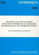 Existence de chocs faibles pourdessystèmes quasi-linéaireshyperboliques multidimensionnels