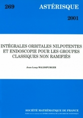 Intégrales orbitales nilpotentes etendoscopie pourlesgroupesiques nonramifiés