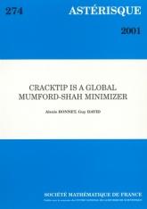 Cracktip est un minimum de Mumford-Shah global