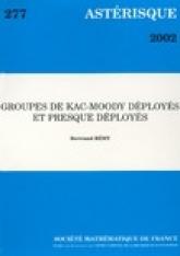 Groupes de Kac-Moody déployés et presque déployés