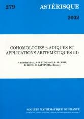 Cohomologies $p$-adiques et applicationsarithmétiques(II)