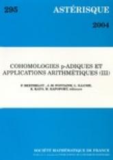 Cohomologies $p$-adiques et applicationsarithmétiques(III)