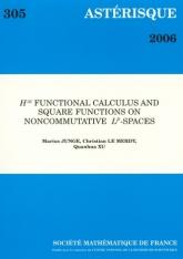 Calcul fonctionnel $H^\infty $ et fonctions carrées dans les espaces $L^p$ non commutatifs