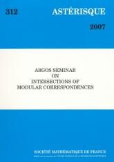 Séminaire ARGOS sur les intersections de correspondances modulaires