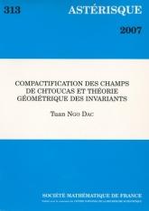Compactification des champs de chtoucas et théorie géométrique des invariants