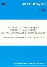 Représentations $p$-adiques de groupes $p$-adiques III: Méthodes globales et géométriques