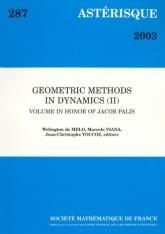 Méthodes géométriques en dynamique (II) Volume en l'honneur de Jacob Palis