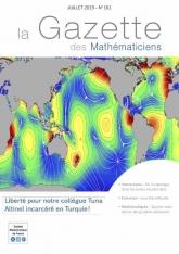 La Gazette des mathématiciens 161 (juillet 2019)
