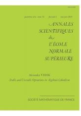 Opérations stables et instables en cobordisme algébrique
