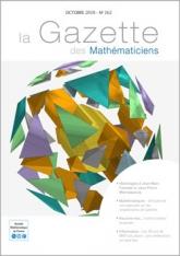 La Gazette des mathématiciens 162 (octobre 2019)