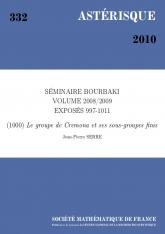 Exposé Bourbaki 1000 : Le groupe de Cremona et ses sous-groupes finis