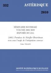 Exposé Bourbaki 1001 : Paradoxe de Scheffer-Shnirelman revu sous l'angle de l'intégration convexe d'après C. De Lellis et L. Székelyhidi